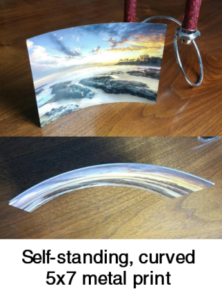 Metal Prints - Curved, Easel or Wall Mounted : dotphoto Support