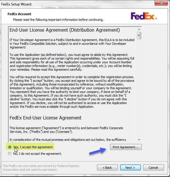 Adding FedEx To ShipWorks : ShipWorks Support