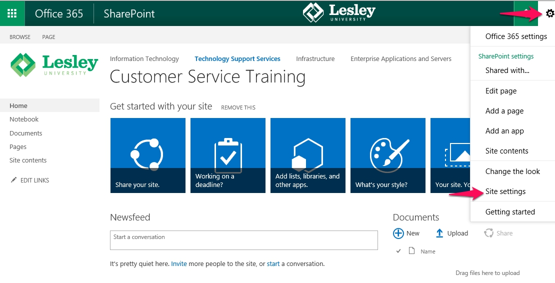 How To Grant Unique Permissions To A SharePoint Subsite : Information Technology + ELearning