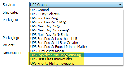 Enabling UPS Mail Innovations via the UPS API in ShipWorks
