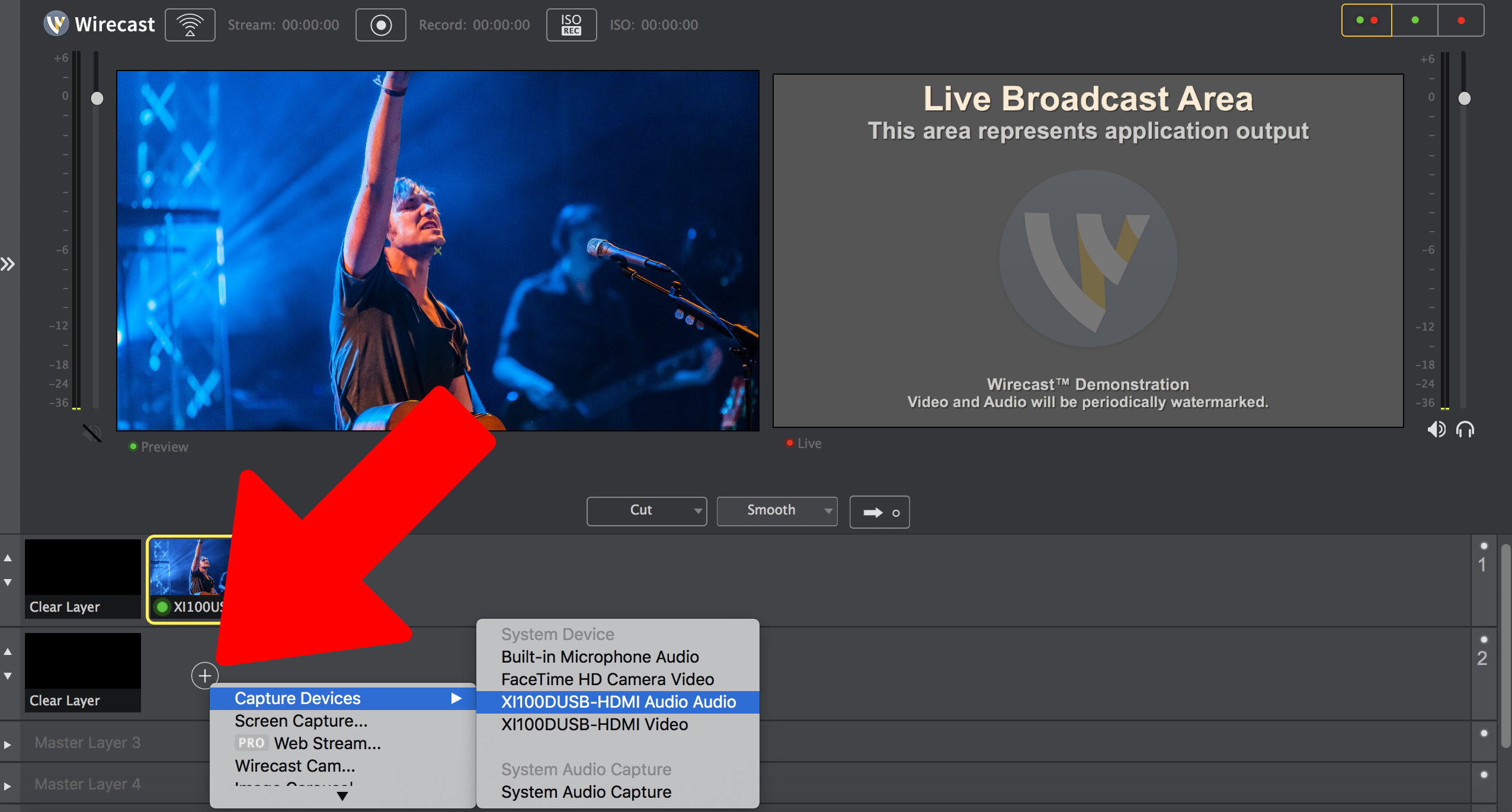 Setting up Wirecast on Mac (v 7 x) : Sunday Streams Support