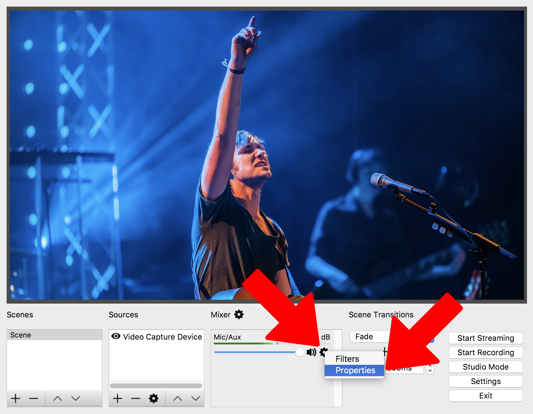 how to use obs on mac