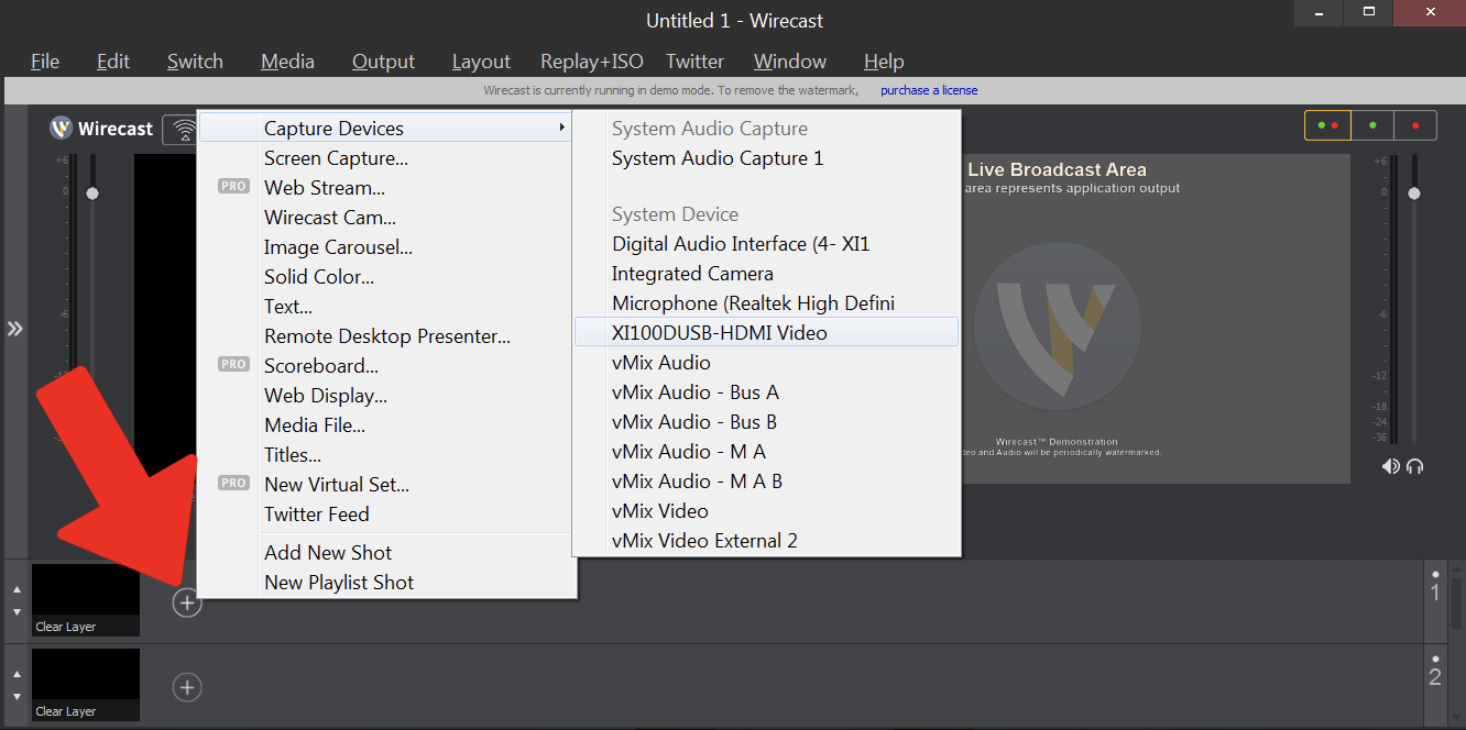 Setting up Wirecast on PC (v 7 x) : Sunday Streams Support