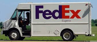 Image result for fedex and USPS truck