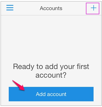Choosing the Microsoft Authenticator app for multi-factor