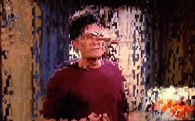 Image result for pixelation on tv