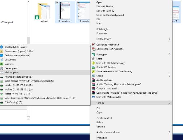 How to resize photos in Windows 10 : WISS IT Support