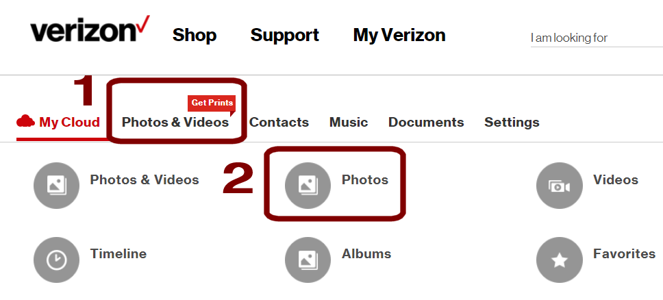 How Can I Download Photos From Verizon Wireless