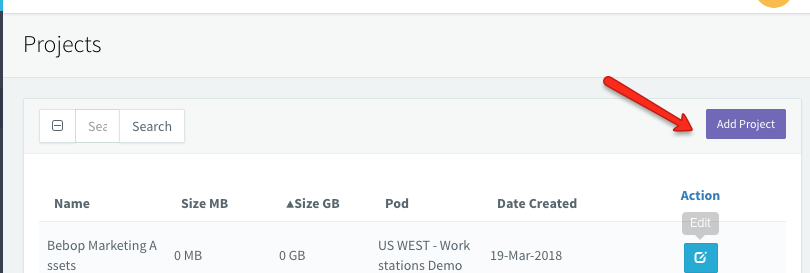 Setting up a cloud storage sync project : BeBop Technology