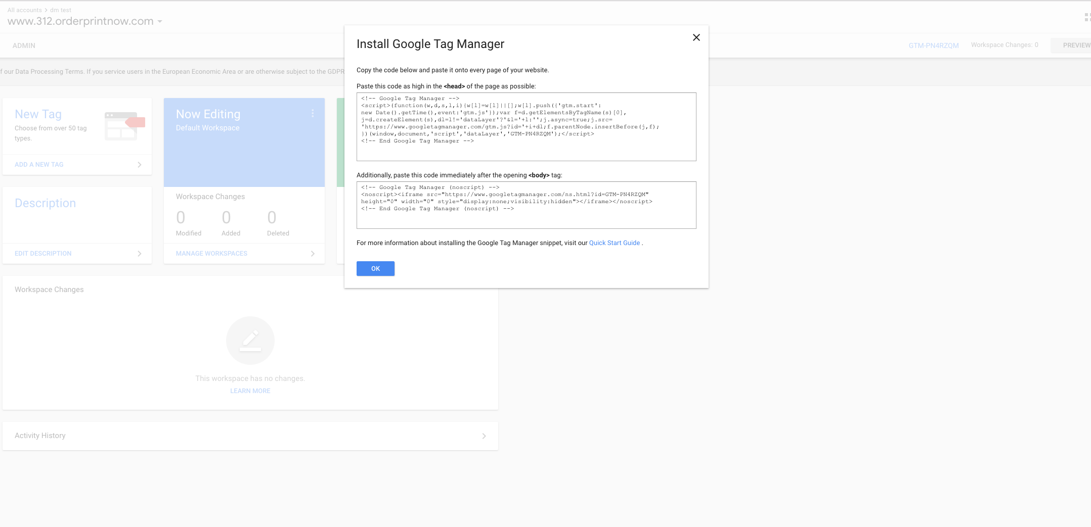 Setting Up Google Analytics or Google Tag manager on your portals