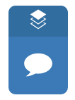 Speech bubble icon in the Turnitin toolbar