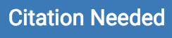 Citation Needed icon in Turnitin