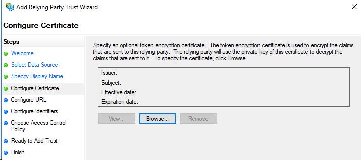 Setting Up Microsoft ADFS Environment With SafeConsole : DataLocker