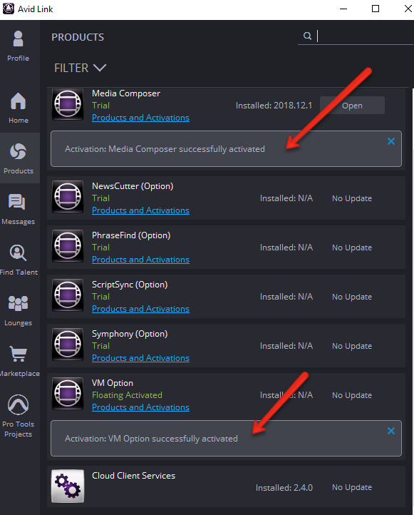 Connecting Avid Media Composer 2018 to Floating License