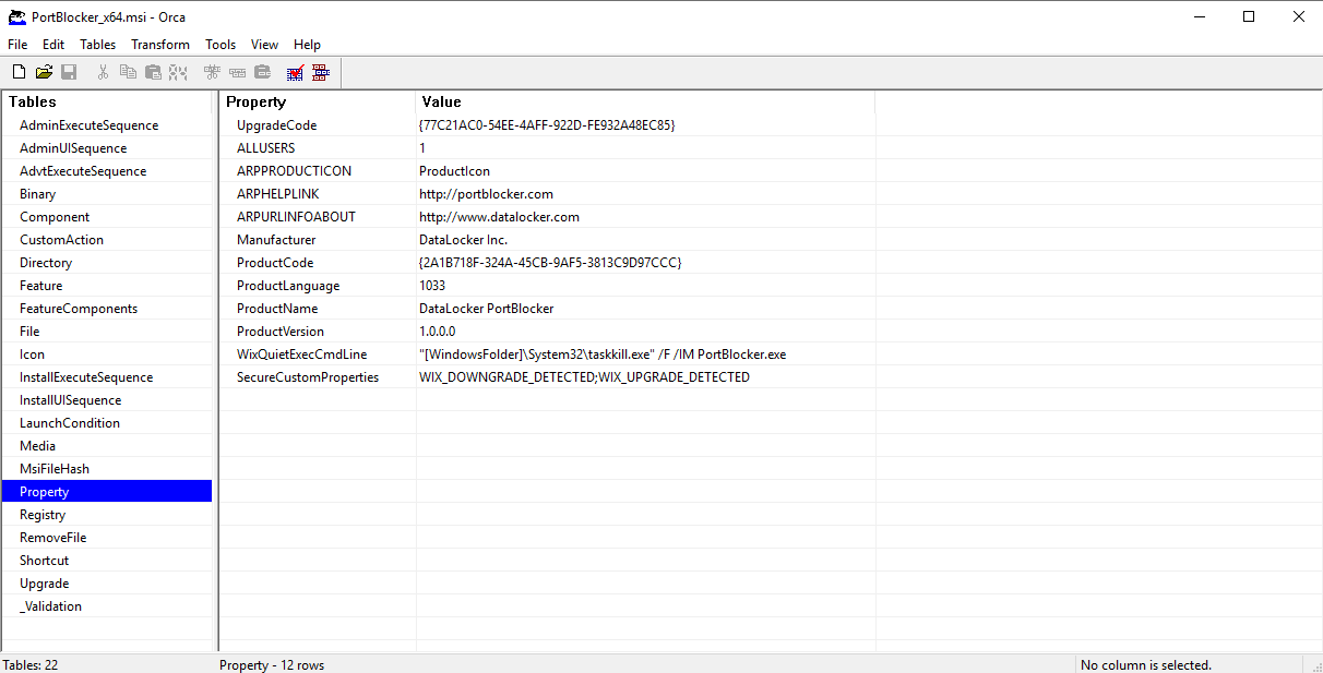 MSI Group Policy : DataLocker Support