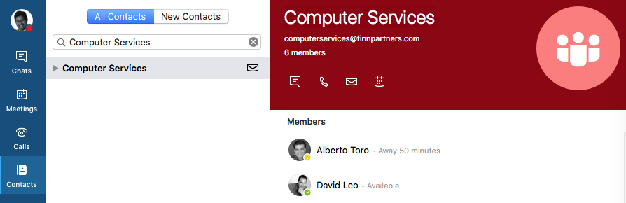 Chat Groups in Skype - (May 2018) : Computer Services Helpdesk