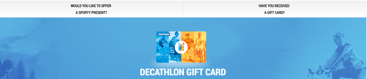 How to check balance and validity of a Gift Card? : Decathlon Sports