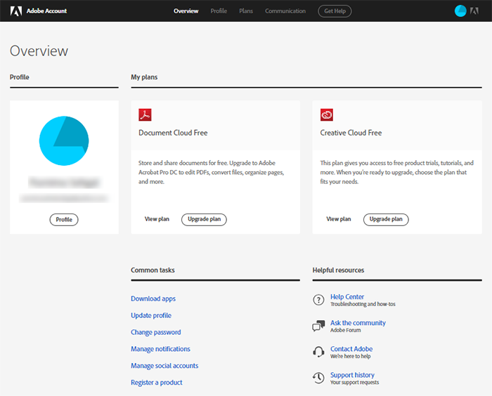Adobe Creative Cloud availability : Information Technology +