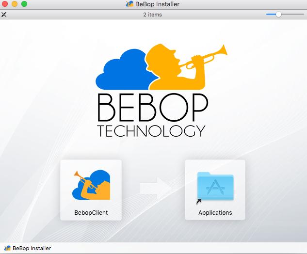 Downloading & Installing the BeBop Client : BeBop Technology