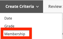 image of criteria membership button