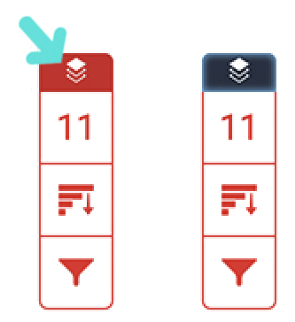 Red segment on the Turnitin Toolbar used for disabling the similarity report