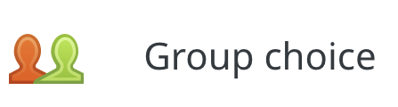 Group Choice Activity icon