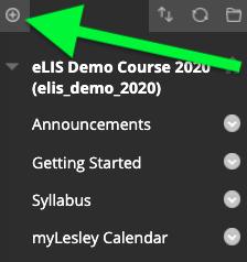 click the add menu item button