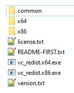 FireDaemon Fusion OEM ZIP file contents