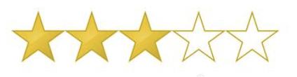 Star rating: 3/5