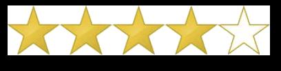 Star rating: 4.5/5