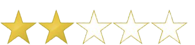 Star rating: 2/5