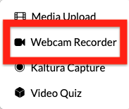 select webcam recorder