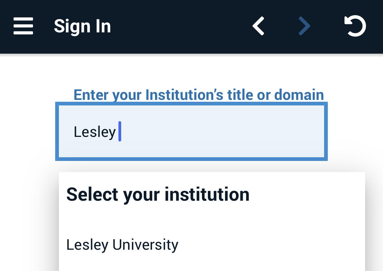 select Lesley University