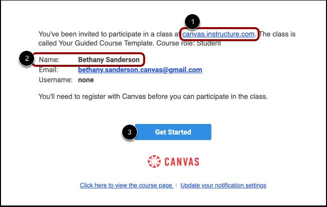 Accept Course Invitation