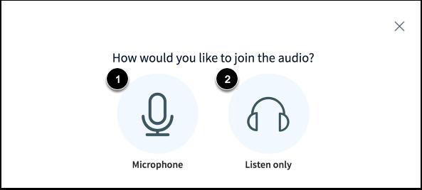 Join Audio
