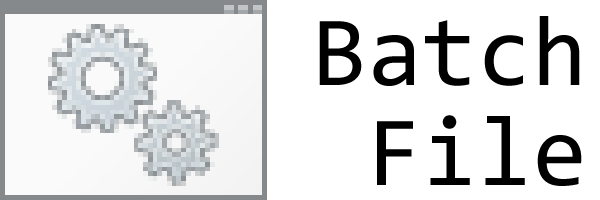 Batch File logo