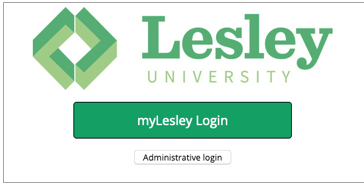 select myLesley login to log in