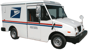 Results image USPS truck