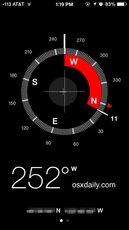 Image result for iphone compass