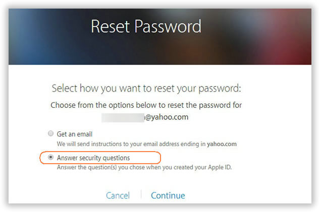 what to do if you forgot icloud password and security questions