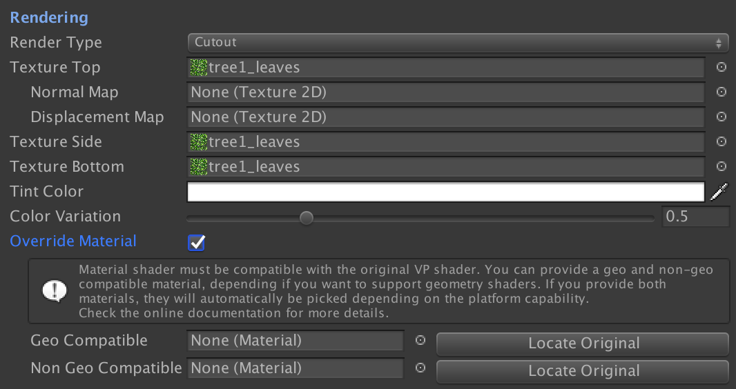 Custom material / shaders : Knowledge Center