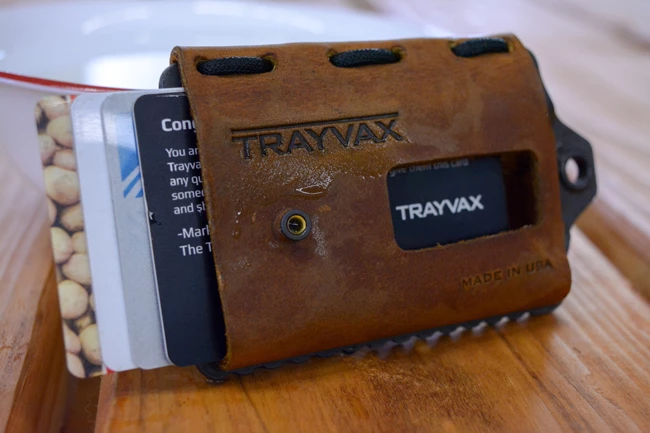 How to soak your Trayvax Element: Slide cards in to mold