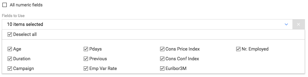 Block options