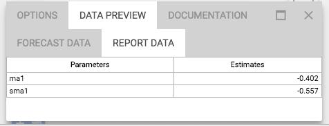 Model report