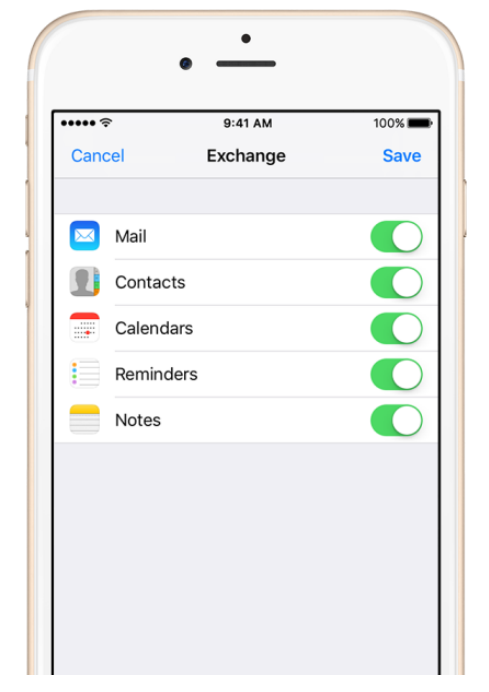 how to set up msn email on iphone