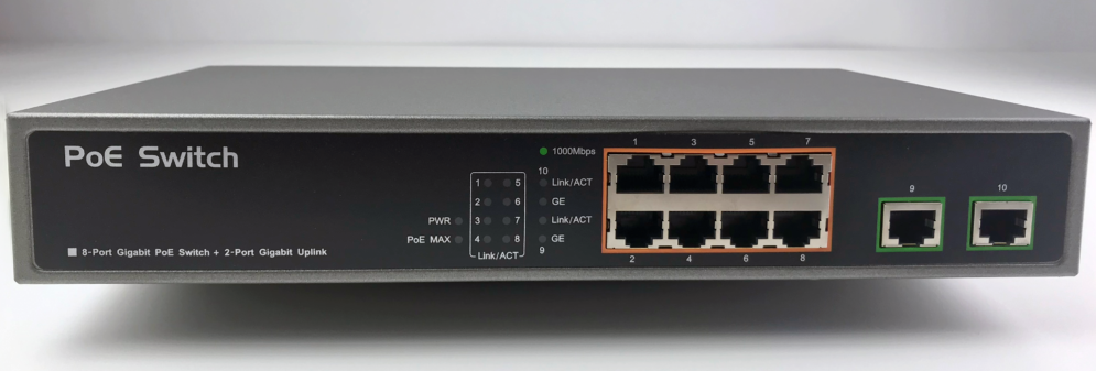 Gigabit Power-over-Ethernet Hub