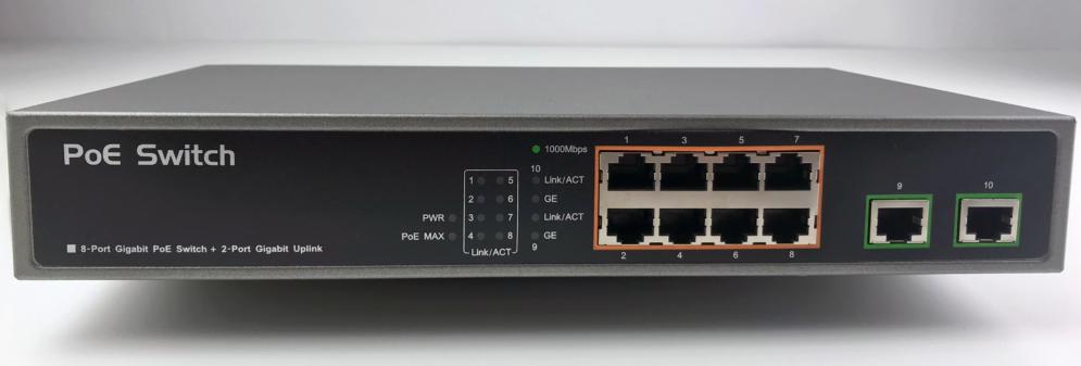 Gigabit Power-over-Ethernet Hub