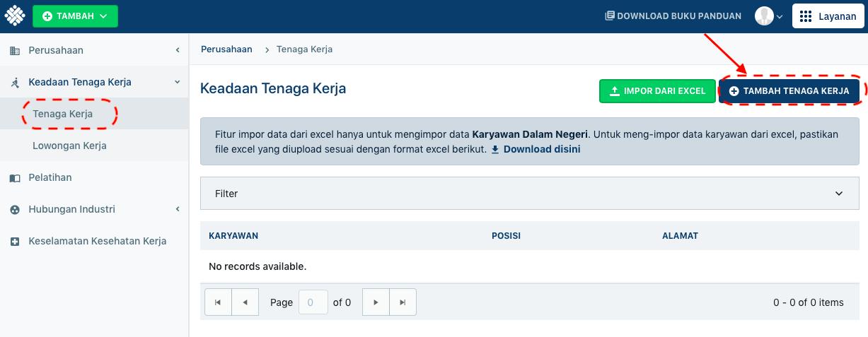 Melihat Detil Informasi Keadaan Tenaga Kerja Kementerian Ketenagakerjaan Ri