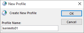 New Outlook mail profile being set up for kerimills