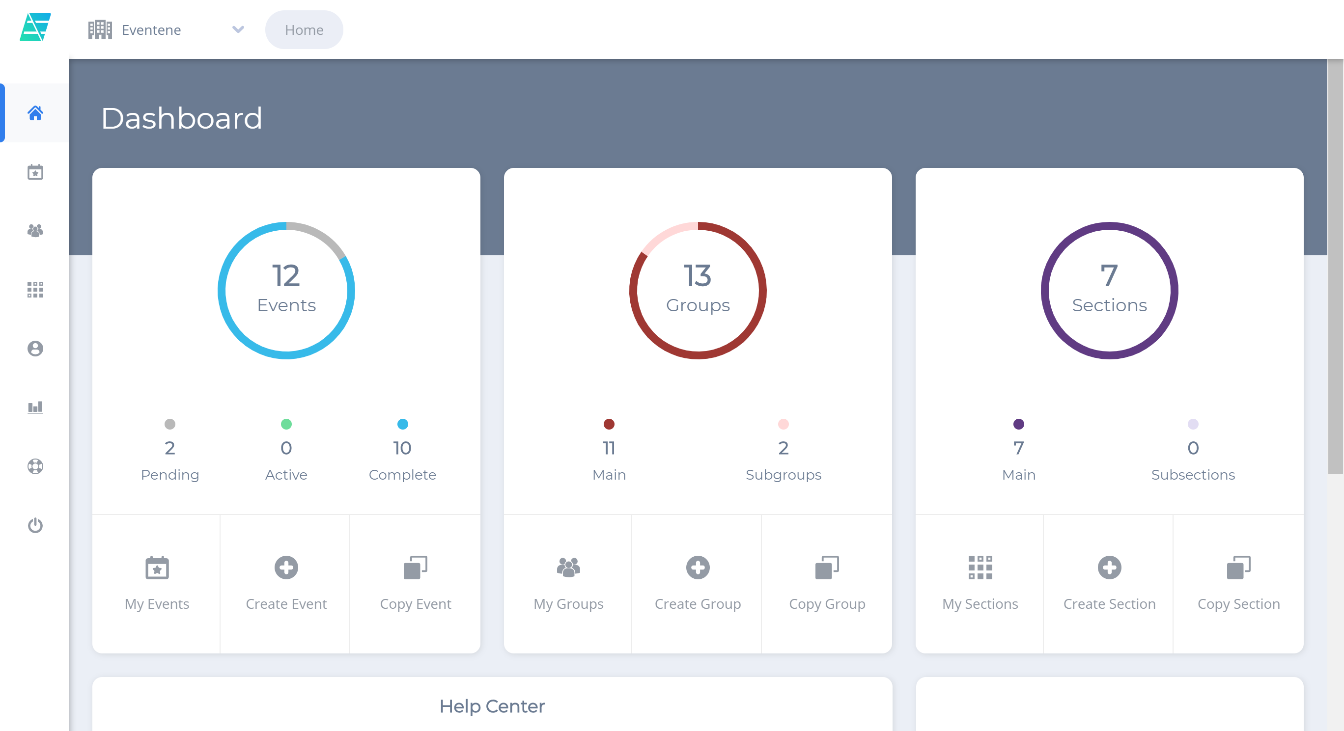 Redesigned Dashboard